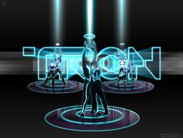 Tron Generation Wallpaper by xistenceimaginations