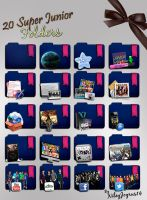 20 Super Junior Icon Folders I by NileyJoyrus14