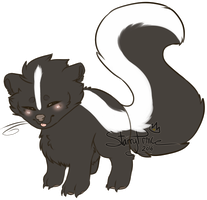 SKUNK by Starry-Prince