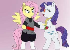 Fluttershy Does Cosplay by Pony4Koma