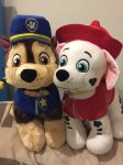 Build a bear chase and marshal by angelicoreXX