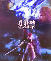 Final Fantasy XIII-2 Lightning and Caius by xDreamingFantasYx