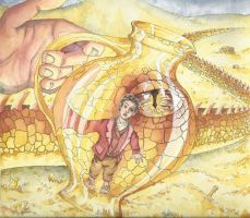 Smaug by WilliWeissfuss