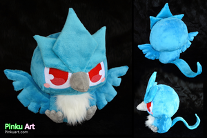 Baby Articuno plush by PinkuArt