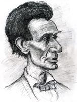 Beardless Abraham Lincoln by Caricature80