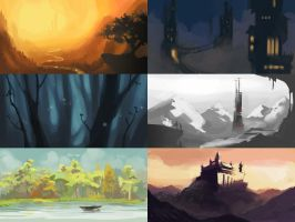 Tiny Environments by Serain