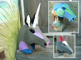 How to build horse heads by LilleahWest