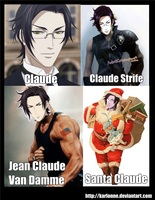 For the LOLS .. Claude by karlonne