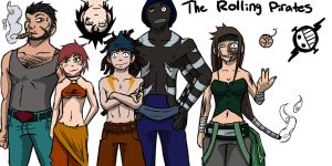 The Rolling Pirates by Enigma-Thirteen