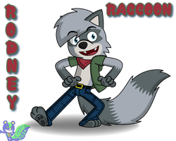 Rodney Raccoon by RHODOL1TE