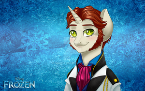 .My Frozen Pony: Hans. by Kikuri-Tan