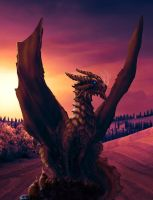 The Dragon of Tuscany by Netarliargus