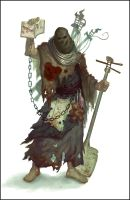 Taineng Cultist Concept by Andantonius