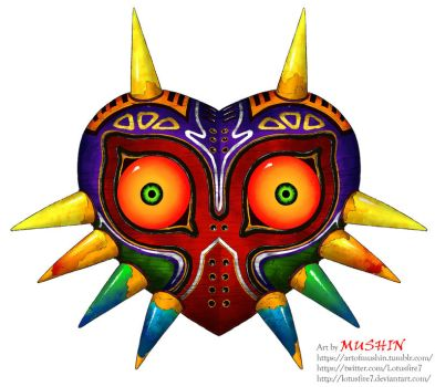 Majora's Mask by Lotusfire7