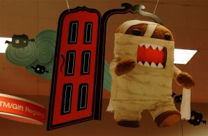 Domo-kun Halloween 007. by GermanCityGirl