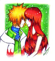 "MinatoxKushina ""I Love You"" by naochiko-feature-acc"
