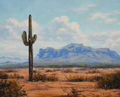 Arizona Cactus by artsaus