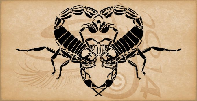 Tattoo ScorpionV2 by Amoebafire