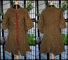Woollen ragged jacket by Turiel-Eressiel