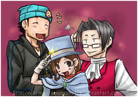 Oh, Trucy... by Carmalicious