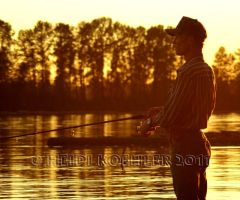 Golden Fishing Day by 12monthsOFwinter