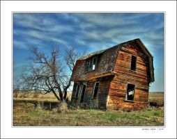 A Little Crooked House by altered-states