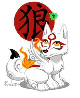 Amaterasu by Purrclops