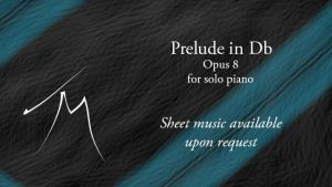Music - Prelude in Db, Op. 8 - Solo Piano by x-VivaerethAlonia-x