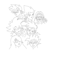 Z-force 7 group pic (Not Complete) by Sonkai912