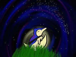 Cyndaquil by a-moment-at-midnight