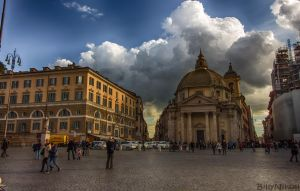 Piazza del Popolo I by BillyNikoll