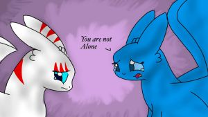 Your Not Alone... by Foal01
