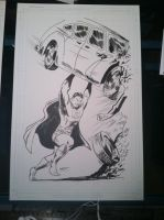 Action Comics #1 Superman Homage commission by WestStudio3