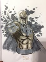 Magneto NYCC commission by BrianVander