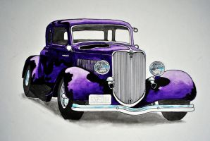 34 Ford five window coupe by Arkinman