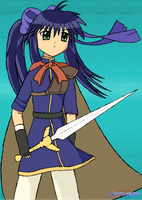 SSBA: Mai Kawasumi as Ike by Apkinesis