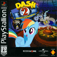 Dash Bandicoot 2: Discord Strikes Back by nickyv917