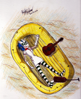 On Melancholy Hill: Noodle by KwalalaFalconwing