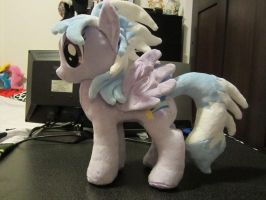 My little pony Cloudchaser Plushie by Little-Broy-Peep