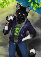 shepherd of the raindrops. by rainmint