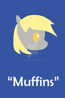 Derpy Hooves Print by MysticEden