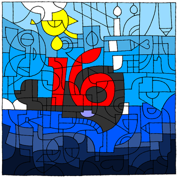 Celebrating 16 Years of DeviantArt by JC-DiD