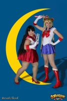 Sailor Scouts by Moonie-Dreamer