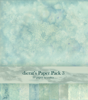 Paper Pack 3 by dierat