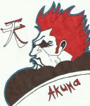 Akuma [Sharpie Fighters Edition] by LudeMagik