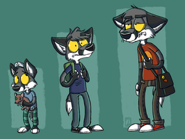 Foley through the ages by Zerda-Fox