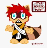 Gaara Flipped Out by gaaraXchik