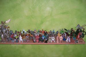 my all toys COLECCION kaiju by mayozilla
