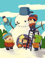 SP :: Snowman by Cartooom-TV