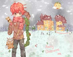 Merry Christmas!!! by J-chan33